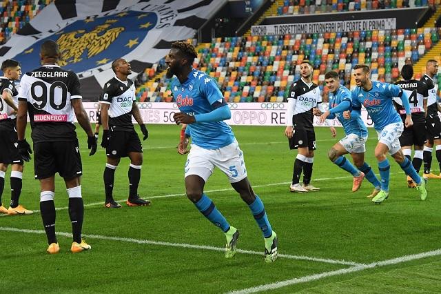 Napoli y el Chucky consiguen victoria de último minuto ante Udinese