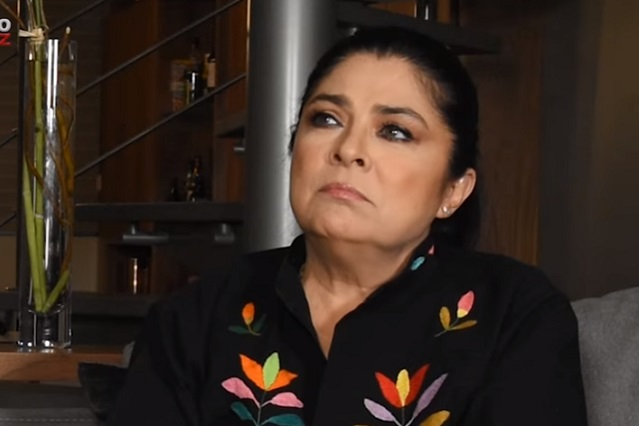 Victoria Ruffo asegura que fue Eugenio Derbez quien le coqueteó a ella