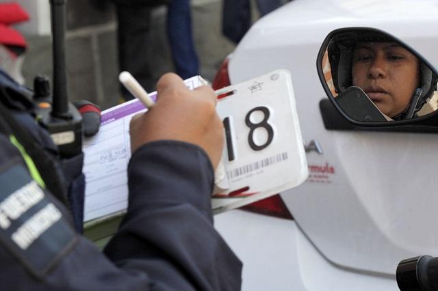 Por operativos en la Recta, SSP multó a 138 automovilistas, hasta junio