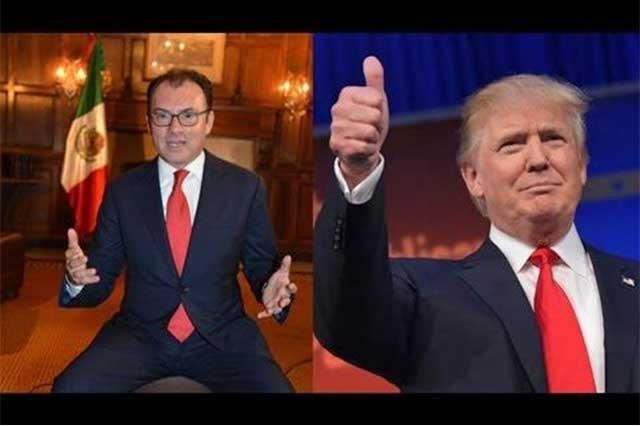Donald Trump asume como una victoria personal la renuncia de Videgaray