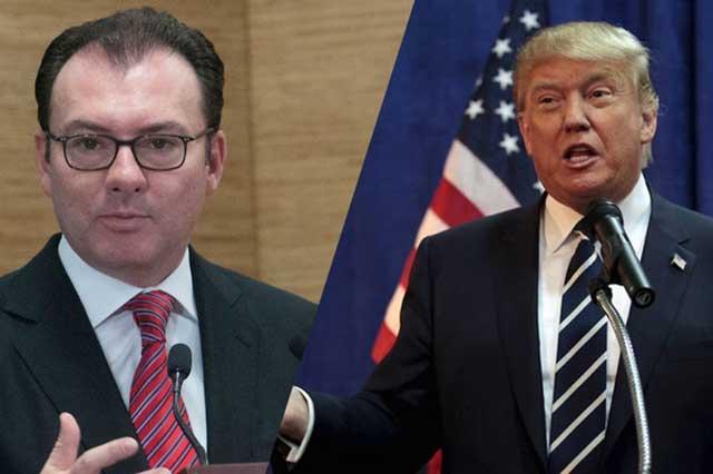 México no pagará el muro ni negociará el TLC en Twitter, revira la SRE a Trump