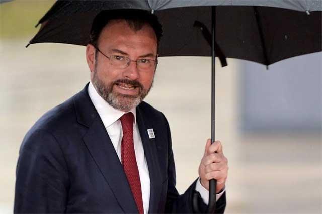 Videgaray descarta que México y EU estén en crisis diplomática