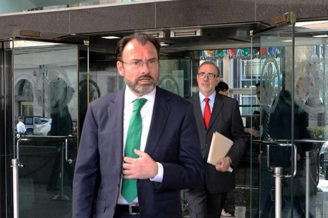 Videgaray pedirá a la ONU que impida separación de familias en la frontera