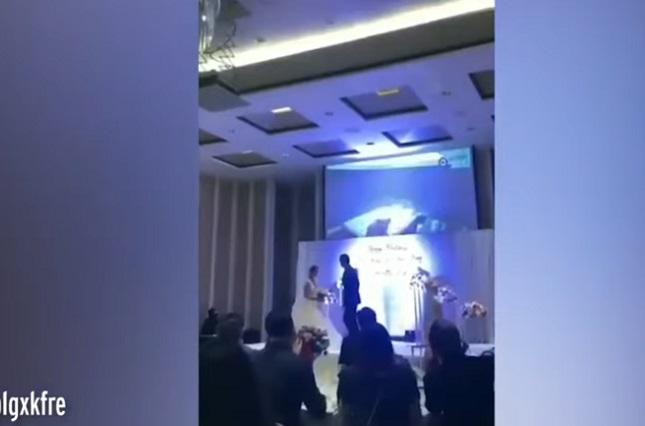 Joven descubre infidelidad de su novia y exhibe video sexual en boda