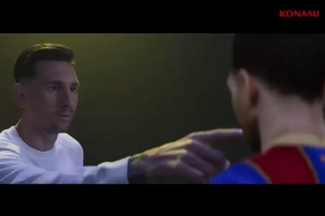 Messi presenta el PES 2021 con espectacular video