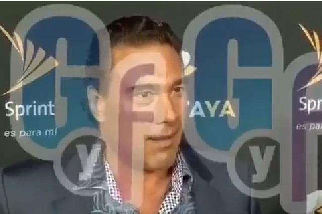Difunden video de la agresión de Eduardo Yáñez a reportero