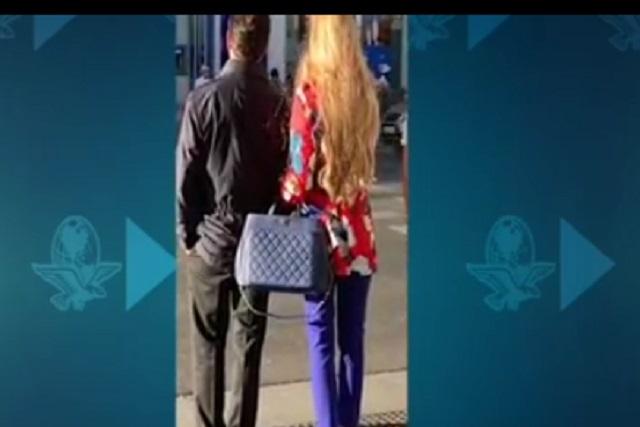 Video ¿Son Peña Nieto y su novia paseando del brazo en Madrid?