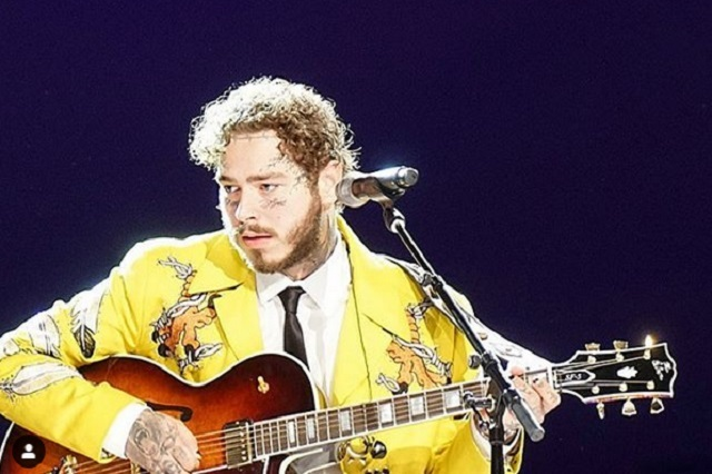 Video: Post Malone lanza 50 mil dólares en concierto
