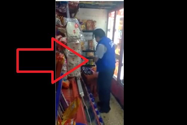 Suben a YouTube más videos de repartidores de Bimbo robando
