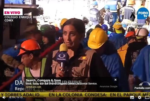 En YouTube videos del engaño de Televisa sobre Frida Sofía tras sismo