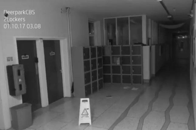 Un fantasma causa terror en una escuela de Irlanda