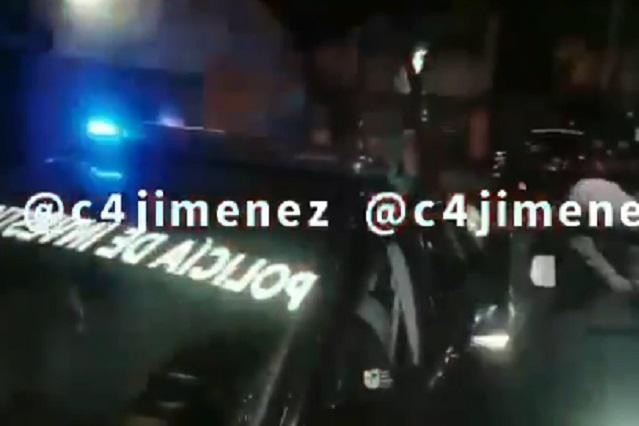Comparten video de la detención de YosStop, estaba en su casa