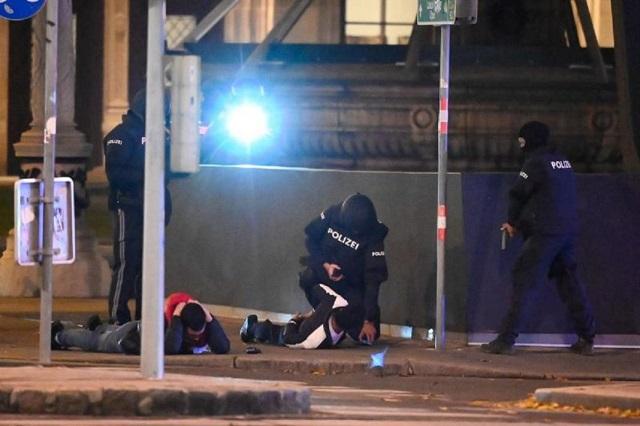Dos muertos y 15 heridos dejan atentados en el centro de Viena