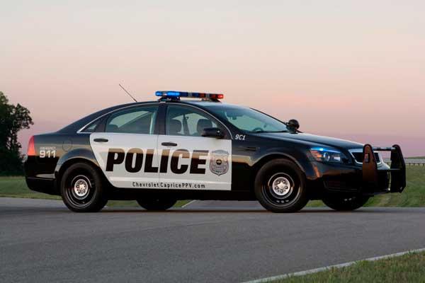 Usan carros policía falsos para ahuyentar los delincuentes ...