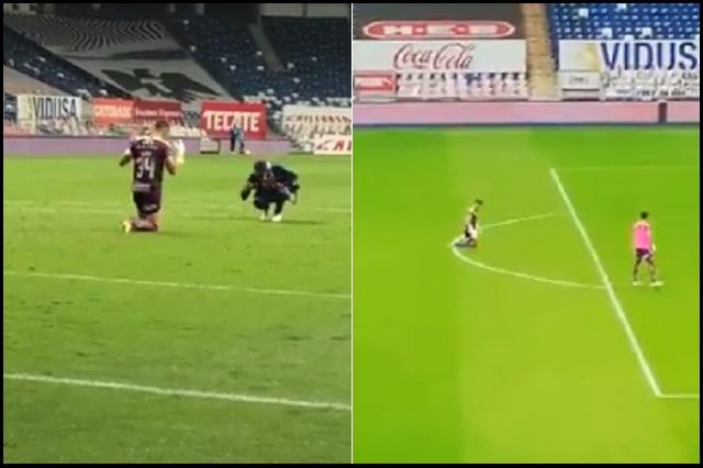 El emotivo ritual de Nicolás Vikonis al término del partido en Monterrey