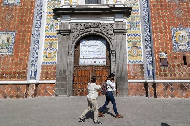 Iglesias de Puebla también cierran en Año Nuevo por Covid