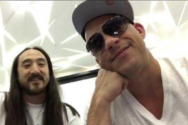 Vin Diesel debutará como DJ de la mano de Steve Aoki