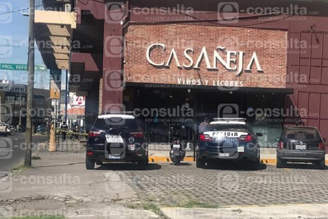 Roban por cuarta vez vinatería Casañeja, de Reforma y Diagonal