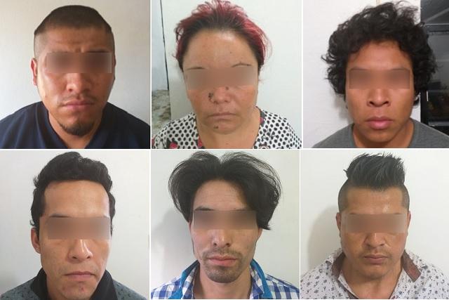 Vinculan a proceso a seis presuntos narcomenudistas