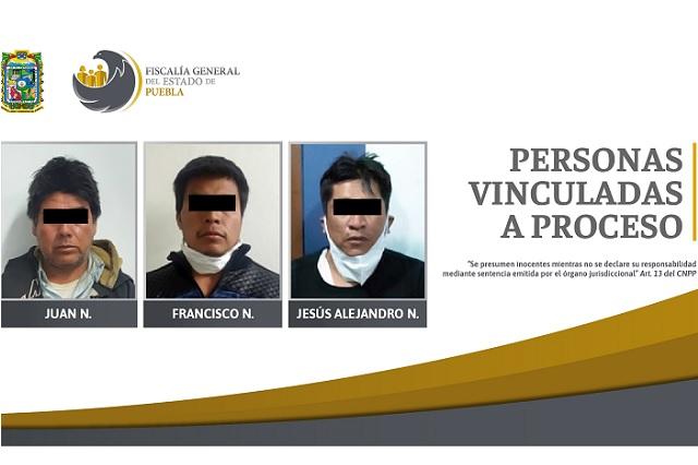 Vinculan a proceso a 3 por casos de violencia familiar en Puebla