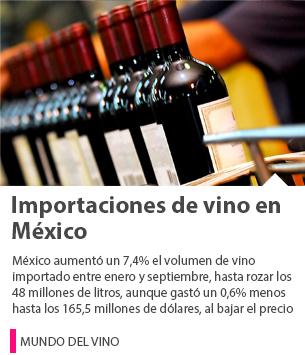 IMPORTACIONES DE VINO EN MÉXICO