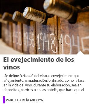 El evejecimiento de los vinos
