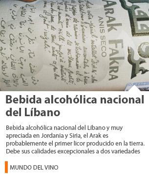 Bebida alcohólica nacional del Líbano