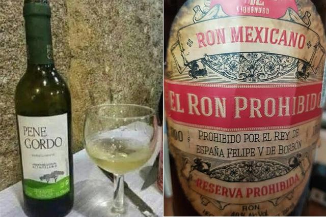 Curiosas etiquetas de vinos, éxito de venta y publicidad