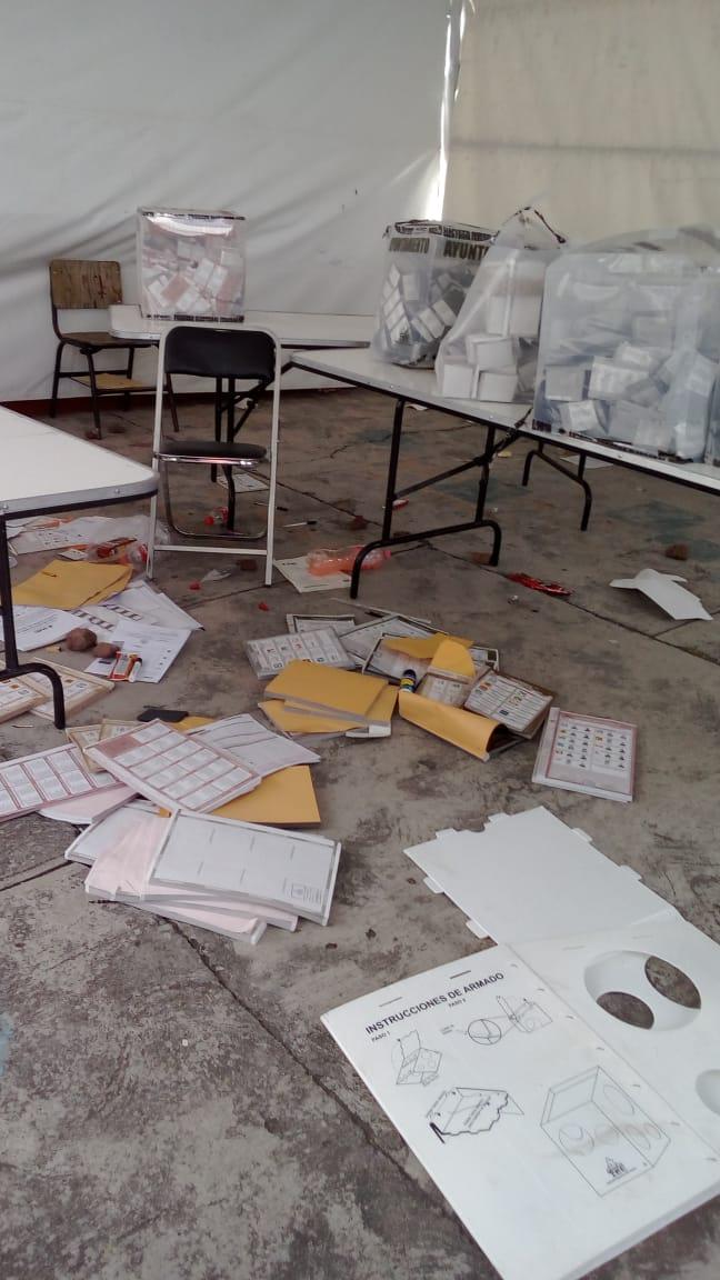 Violencia, robo de urnas y asesinatos destacan en elección en Puebla