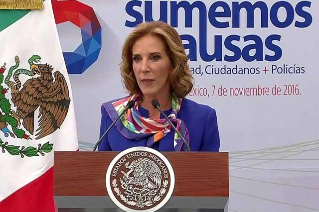 Violencia en México tiene proporciones bélicas, dice María Elena Morera