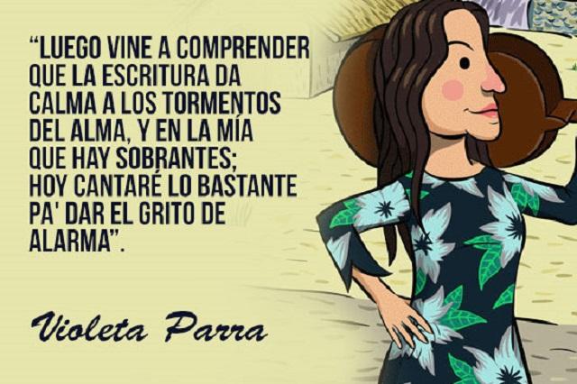 Google conmemora a la artista chilena con doodle — Violeta Parra