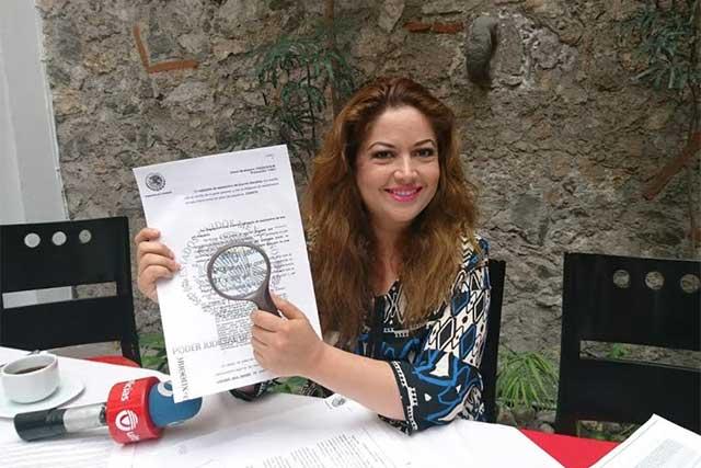 Acusa Violeta Lagunes a líderes CCE de vincularse a red ilegal con Blueicon