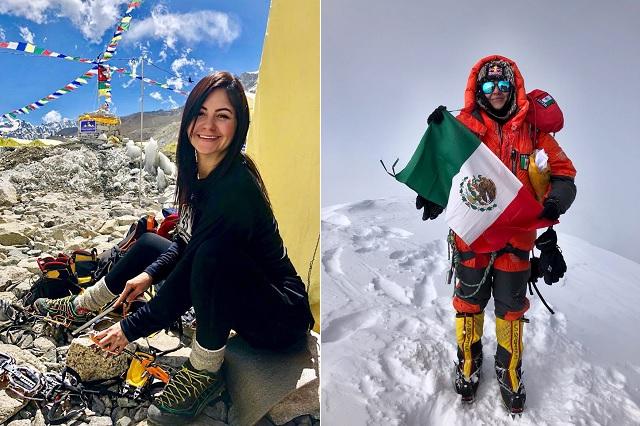 Viridiana Chávez, primera latina en escalar los 3 picos más altos del mundo