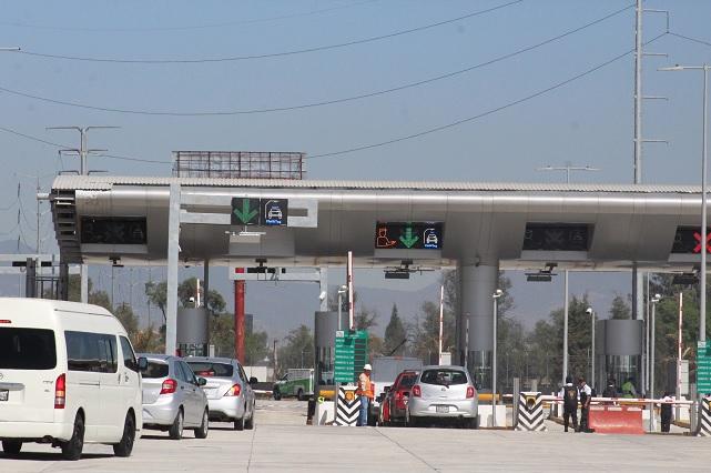 Demandan en San Lázaro bajar tarifas en autopistas de Puebla