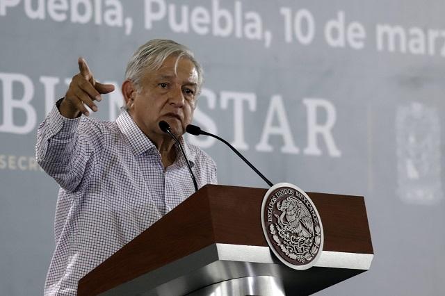A Puebla no regreso sino hasta que pasen las elecciones: AMLO