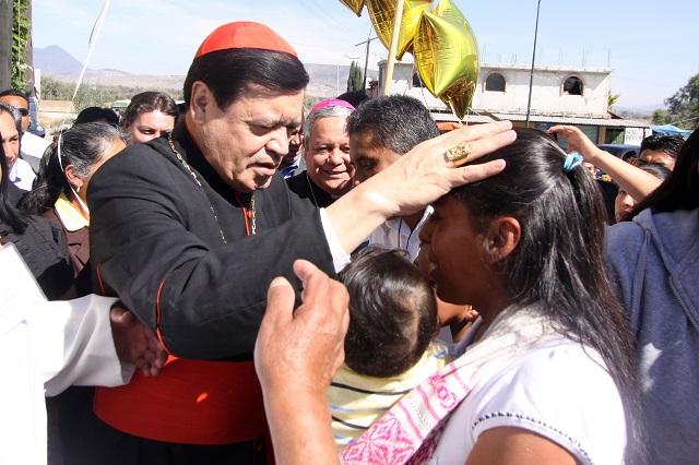 Hospitalizan al cardenal Norberto Rivera por enfermar de Covid-19
