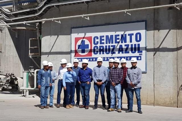 Alumnos de la UTTECAM visitan las instalaciones de CYCNA de Oriente