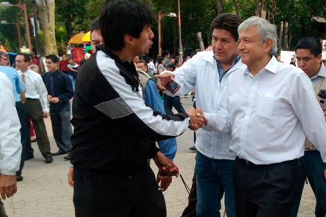 Programa Morena 6 visitas de AMLO durante la campaña electoral