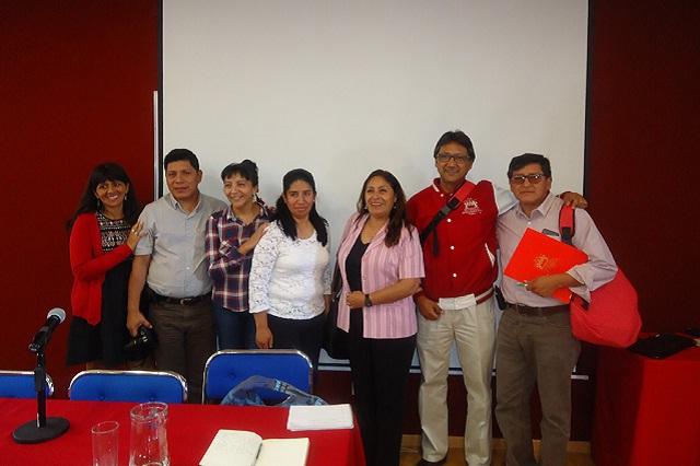 Académicos de universidad peruana visitan plantel de la Ibero Puebla