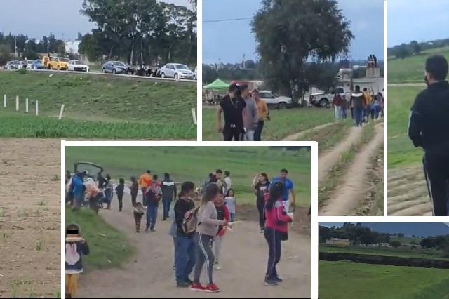 ¿2 mil turistas visitan el socavón de Puebla fines de semana? Mira este video