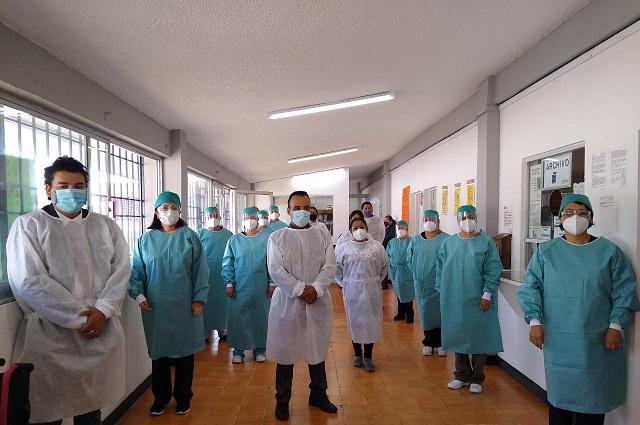 Jornada de salud visual del Issstep en Teziutlán