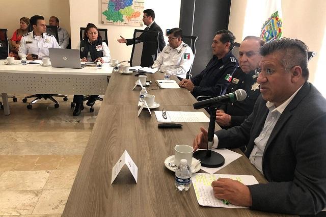 Luna Vite preside reunión en el C5, dicen en Infraestructura