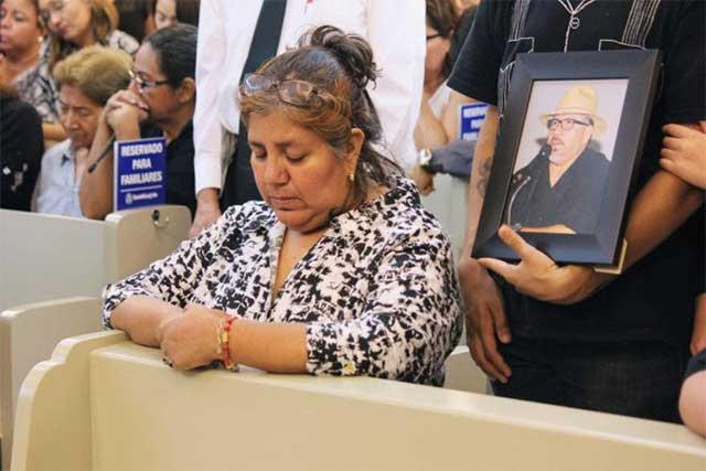 Gobierno es cómplice del crimen organizado: Viuda de Javier Valdez