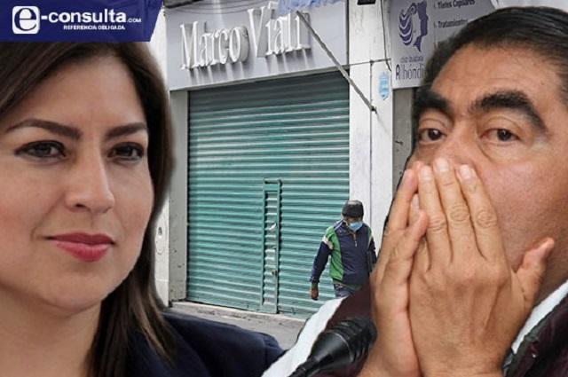 Rivera va por reapertura del Centro y Barbosa avisa sanciones