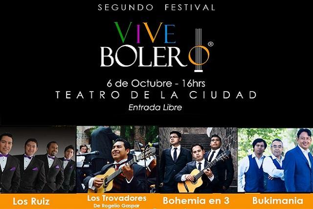 Imacp presenta segunda edición del Festival Vive Bolero