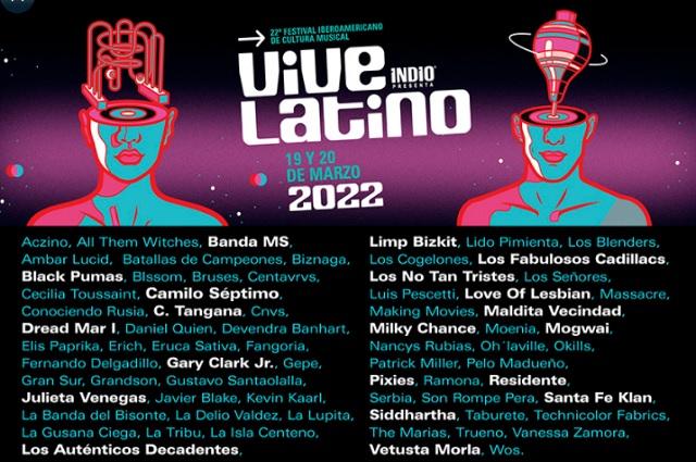 Vive Latino 2022 revela quiénes serán parte de su próxima edición