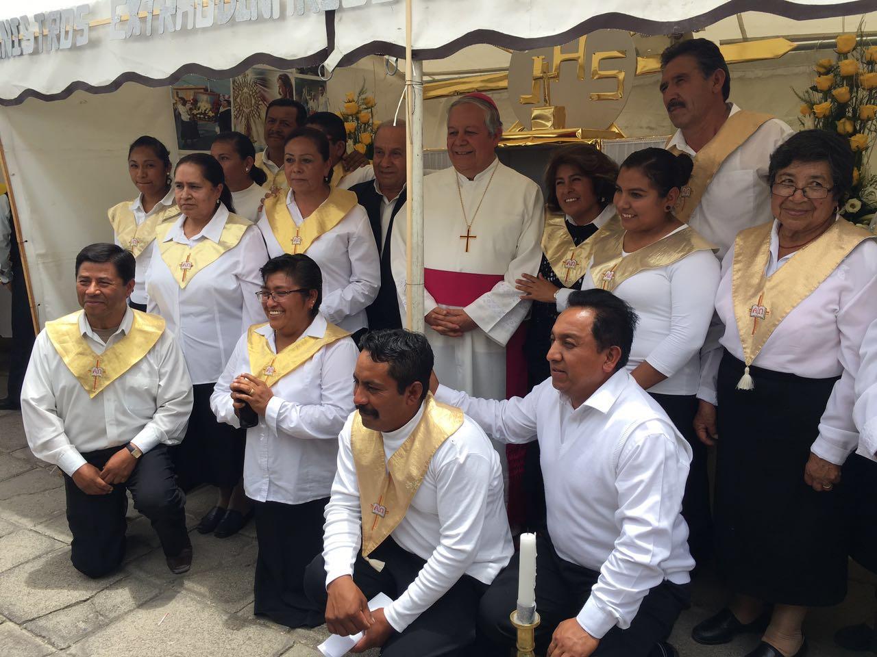 Envía arquidiócesis 4 toneladas de víveres a la Sierra Norte