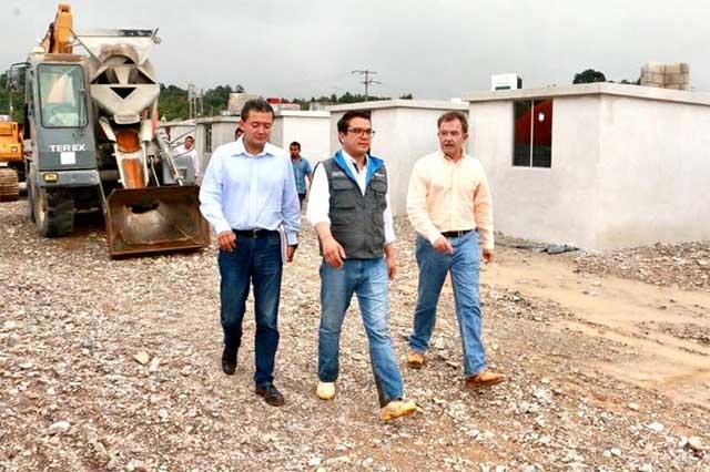 Avanza construcción de viviendas para damnificados por Earl: Islas