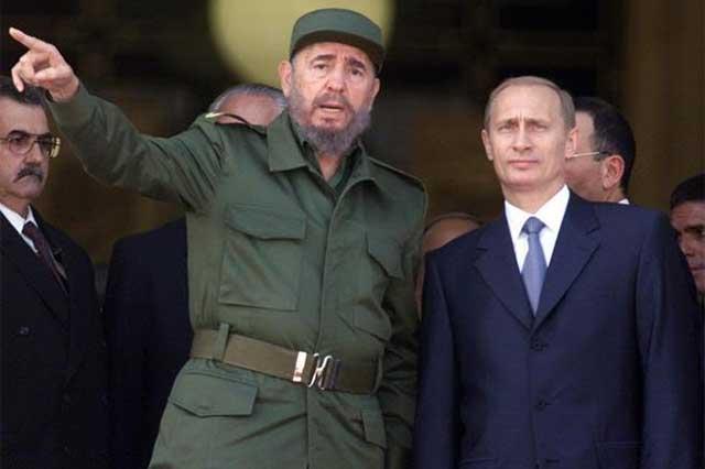 Vladimir Putin no asistirá a los funerales de Castro y enviará a un representante