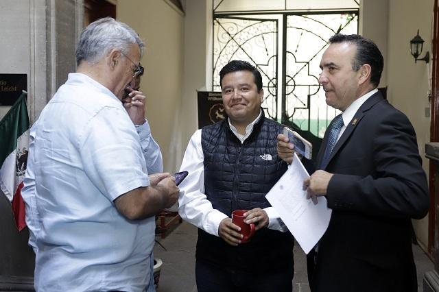 PAN frena arribo de Zaldívar a CDM de Puebla por juicio en su contra